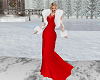 Red Gown & Furs
