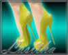 Candy Heels Yellow