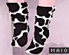 🅜 COW: black socks