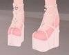 C! Doll Shoes - Peach