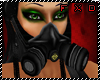 (FXD) Poison Gas Mask BK