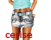 jupe jeans& ceinture