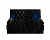 Black Poseless Couch