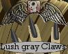 Lush Gray Claws