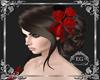 Hair wedd anne flower