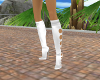 White Boots Holes