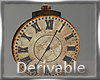 Animated Antique Clock