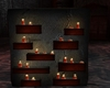 goth candle stand