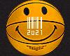 smiley basketball.
