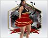 dip: short dress