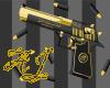 AJ's Blk & Gold Deagle