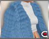 *SC-Fur Coat Blue Layrbl