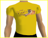 LSUFanGoldTee