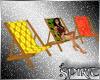 *S*Retro Tiki Deck Chair