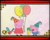[QF] Ballons Peppa Pig
