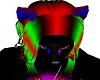 -x- neon wolf ears
