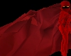 Crimson Cowl Cape
