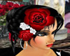 rosas para el cabello