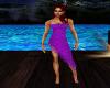 Longer Sexy Purple Dress