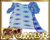 QMBR Lybl Long Robe Blue