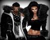 black fur man
