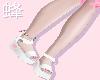 Pink Gamer Heart Sandals