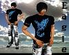 ~:E:~ Blue Phoenix Shirt