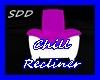 Pnk&Wht Chill Recliner