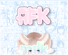 Milk |  Pink AFK Sign