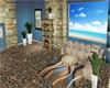 Summer blues room w furn