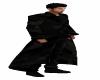 Black Camo Trenchcoat
