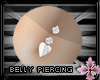 3ColorHeartBellyPiercing