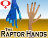 Raptor Hands -Female v1a