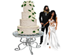 Wedding Cake with Poses