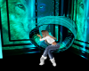 Teal Wolf Swing