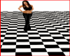 Large Checkered Floor