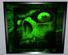 toxic skull wall picture