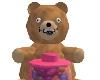 *PP Candy Bear Jar