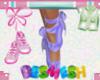Ballet Shoes - Purple