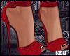 ʞ- Cherry Heels