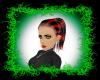 black/red jenna curls