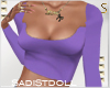 e Summer Top Purple