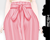 ! Pink Paperbag Pants
