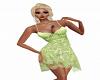 Celine Green Sun Dress