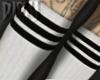 Layer White Socks RL