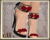 Rose heels black