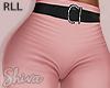 S. Pink Pants & Belt RLL