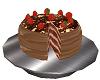 Chocolate cake stand cc