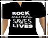 ROCK AND ROLL SAVES...