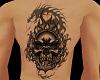 Z Skull Fire Dragon Tat